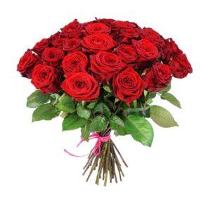 czerwone róże delux